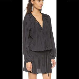 Ramy Brook Paris Tie Neck Dress